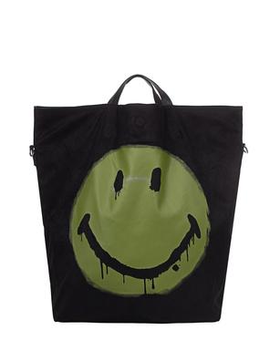 STEFFEN SCHRAUT CAPSULE COLLECTION SMILEY Shopper Black