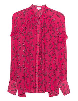 LALA BERLIN Lulu Flowerspray Barberry Pink