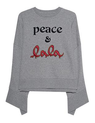 LALA BERLIN Sweater Insa Grey Melange
