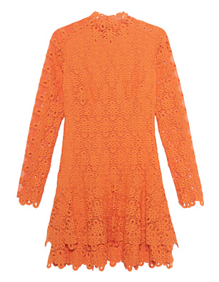 JONATHAN SIMKHAI Guipure Lace Orange