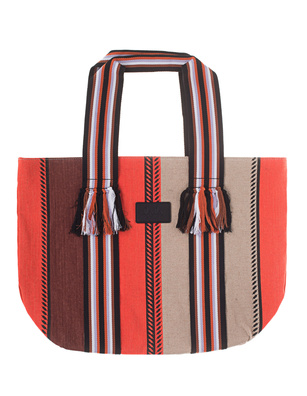 LALA BERLIN Tote Aby Stripes Multicolor