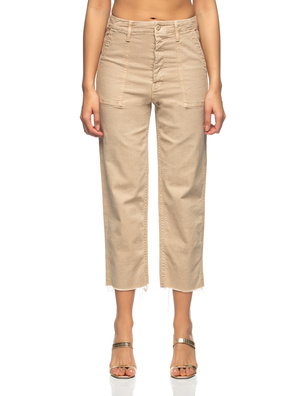 MOTHER The Patch Pocket Private Khaki Beige