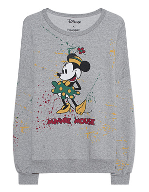 LAUREN MOSHI Sierra Oversized Minnie Mouse Grey