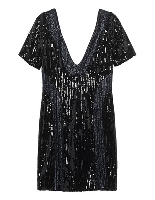 GALVAN LONDON Hero Short Sequin Black