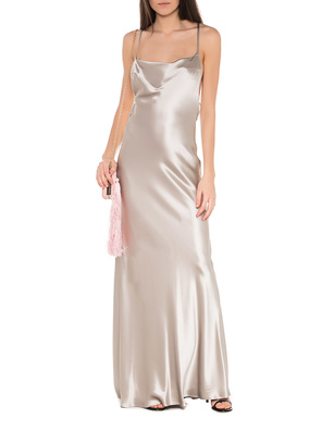 GALVAN LONDON Whiteley Dress Silver