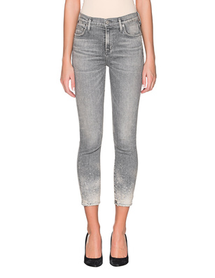 CITIZENS OF HUMANITY Crop Light Grey
