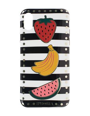 IPHORIA iPhone X/Xs Stripe Fruits Multicolor