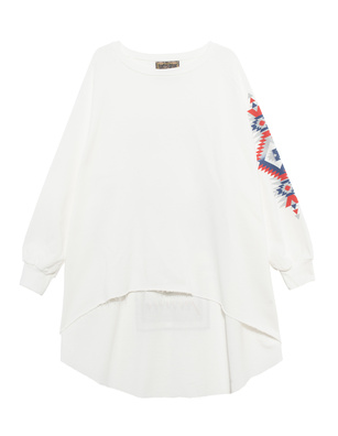 CAMOUFLAGE COUTURE STORK Oversize Aztec White