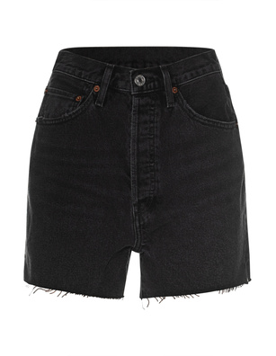 RE/DONE 50s Cutoffs Black