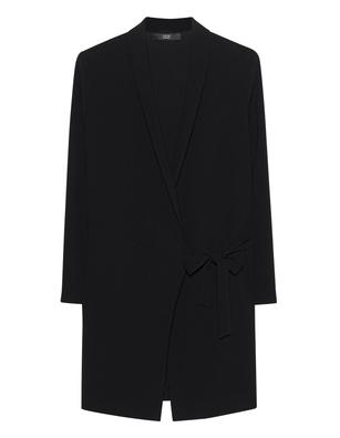 STEFFEN SCHRAUT Long Fit Belted Black