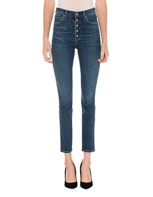 CITIZENS OF HUMANITY Slim Olivia Cicra Blue