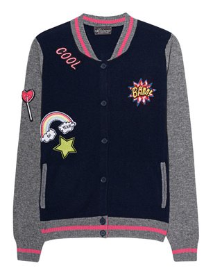 PRINCESS GOES HOLLYWOOD Blouson Patches True Navy