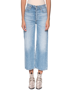 CITIZENS OF HUMANITY Sasha High Rise Wide Leg lightblue