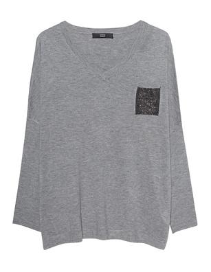 STEFFEN SCHRAUT Glitter Pocket Grey