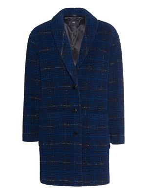 STEFFEN SCHRAUT Check Woolen Blue