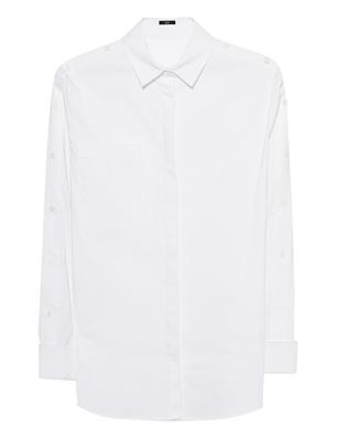 STEFFEN SCHRAUT Button Bar Sleeves White