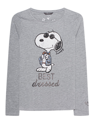 PRINCESS GOES HOLLYWOOD Snoopy Best Dressed Grey