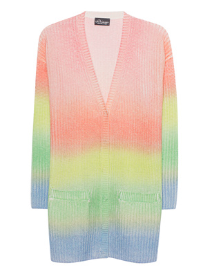 PRINCESS GOES HOLLYWOOD Faded Printed Stripes Multicolor