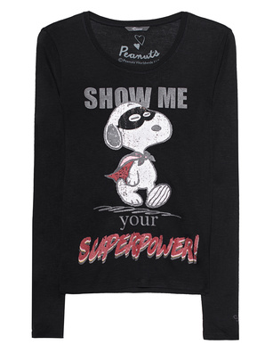 PRINCESS GOES HOLLYWOOD Peanuts Snoopy Superpower Black