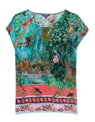 PRINCESS GOES HOLLYWOOD Printed Pano Multicolor