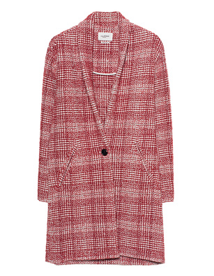 Isabel Marant Étoile Check Eabrie Red