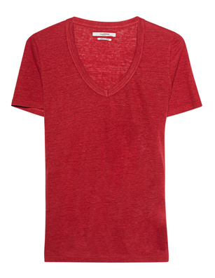 Isabel Marant Étoile Kranger V Neck Red