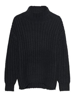 IRO Chunky Knitted Black