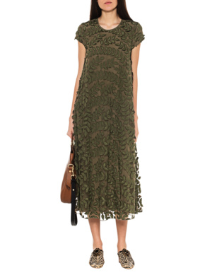 STEFFEN SCHRAUT Leaves Embroidery Olive