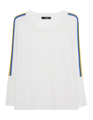 STEFFEN SCHRAUT Rainbow Stripes Off-White