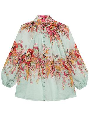 ZIMMERMANN Mae Billow Mint Floral