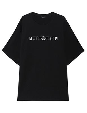 MUF10 Kriss Kross Oversized Black