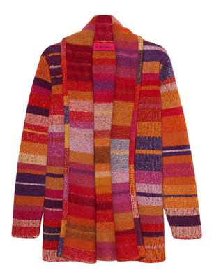 The Elder Statesman Stripe Cashmere Open Multicolor