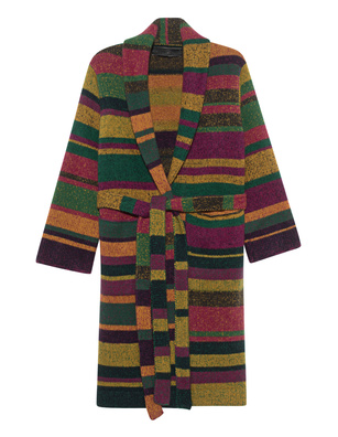 The Elder Statesman Knit Cashmere Stripe Multicolor