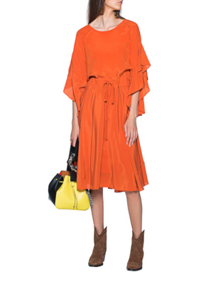 STEFFEN SCHRAUT Burning Sun Dress Orange
