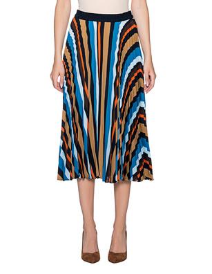 STEFFEN SCHRAUT Plissé Skirt Multicolor
