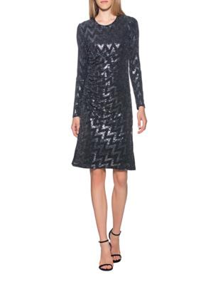 STEFFEN SCHRAUT Sequins Dress Black