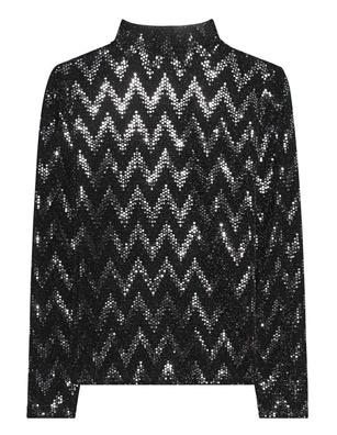 STEFFEN SCHRAUT Sequins Chic Black