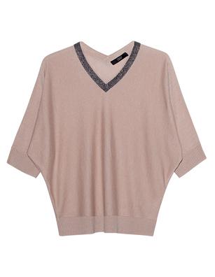STEFFEN SCHRAUT Knit Short Sleeve Sand Beige