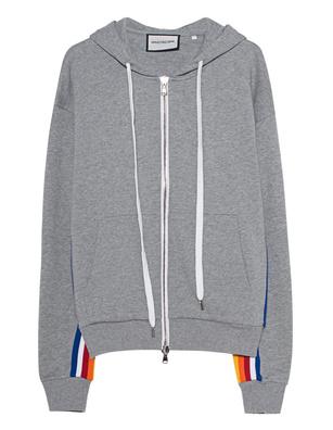 ROQA Zip Hoodie Rainbow Grey