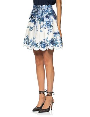 ZIMMERMANN Aliane Sali Blue Floral