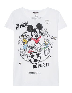 PRINCESS GOES HOLLYWOOD Mickey Soccer White