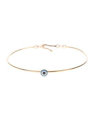 Isabel Marant Étoile Lucky Round Eye Bracelet Gold