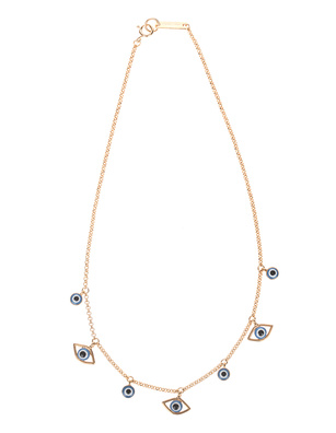 Isabel Marant Étoile Lucky Eyes Necklace Gold