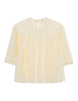 Isabel Marant Étoile Algar Light Vintage Lace Yellow