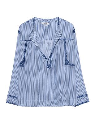 Isabel Marant Étoile Jilcky Vintage Striped Blue