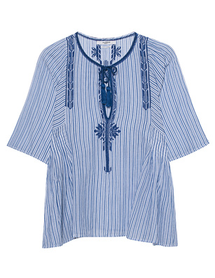 Isabel Marant Étoile Joya Vintage Striped Blue