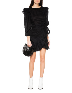 Isabel Marant Étoile Telicia Chic Linen Black