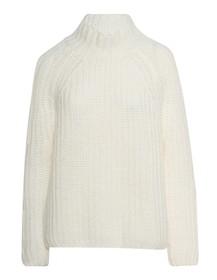 AG Jeans Stand Up Collar Wool Off White