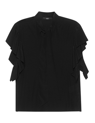 STEFFEN SCHRAUT Bow Frill Sleeve Black