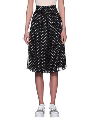 STEFFEN SCHRAUT Dots Skirt Black